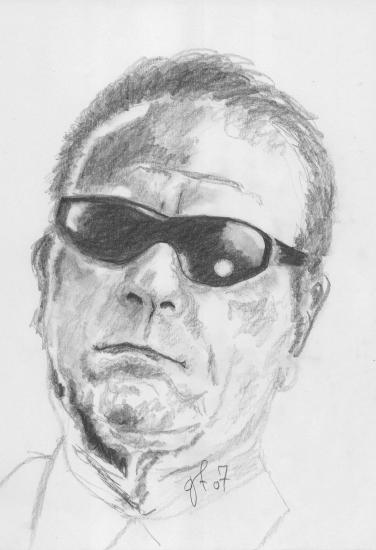 Tommy Lee Jones por goggot